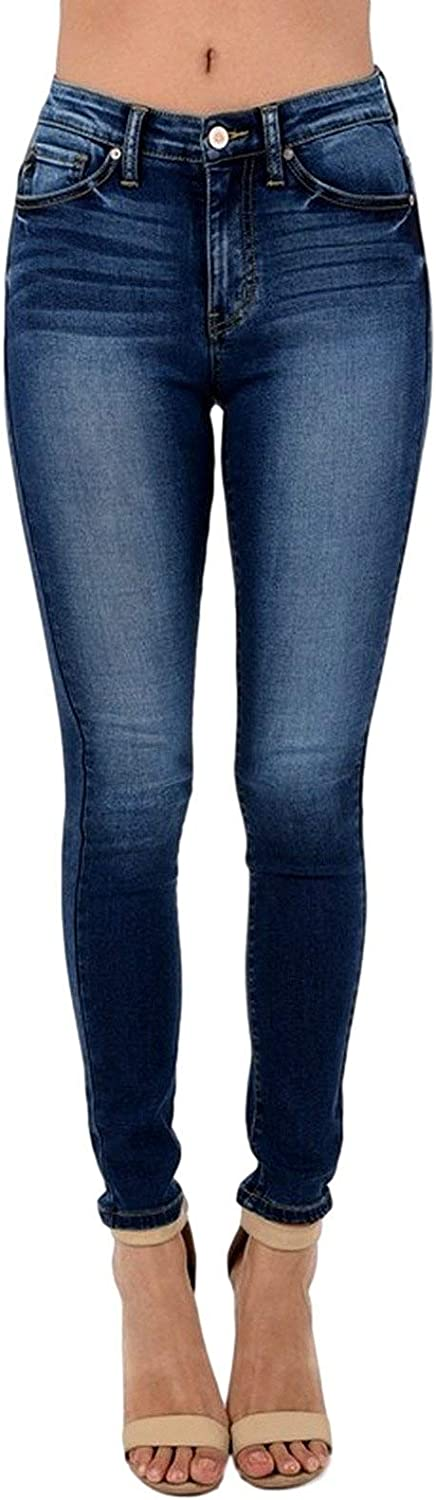 Kancan Women S High Rise Skinny Jeans 3 Dark Wash Kc6009gd Amazon Ca Clothing Shoes Accessories