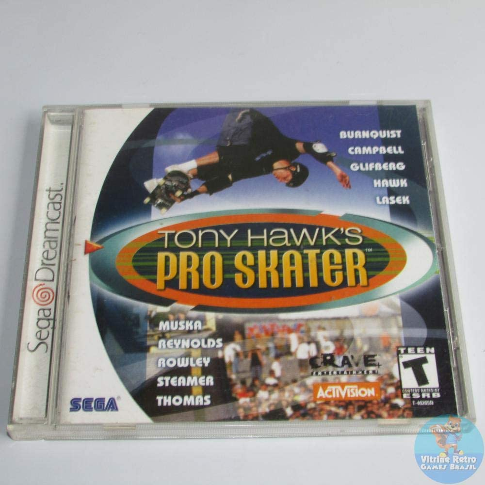 Amazon com: Tony Hawk's Pro Skater - Sega Dreamcast: Sega