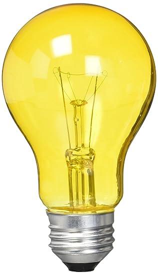 Westinghouse 0344300, 25 Watt, 120 Volt Trans Amber Incandescent ...