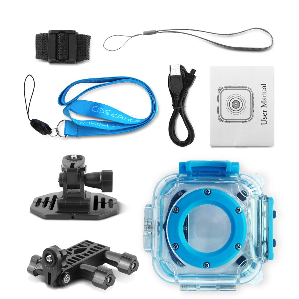 GAKOV GACD WiFi 1080P 2MP Underwater Kids Camera 20m Waterproof Sports Camera for Kids by GAKOV (Image #10)