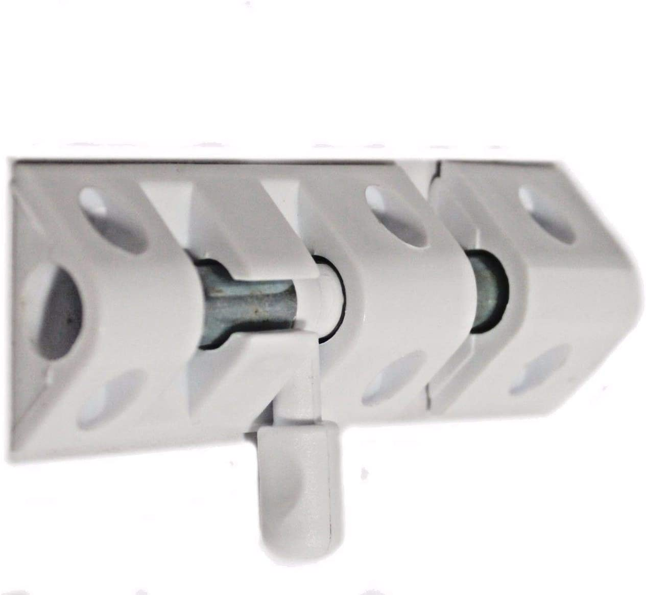NEW Glide Bolt WHITE 75mm Perfect for Doors INDOOR Simple Security NEW!