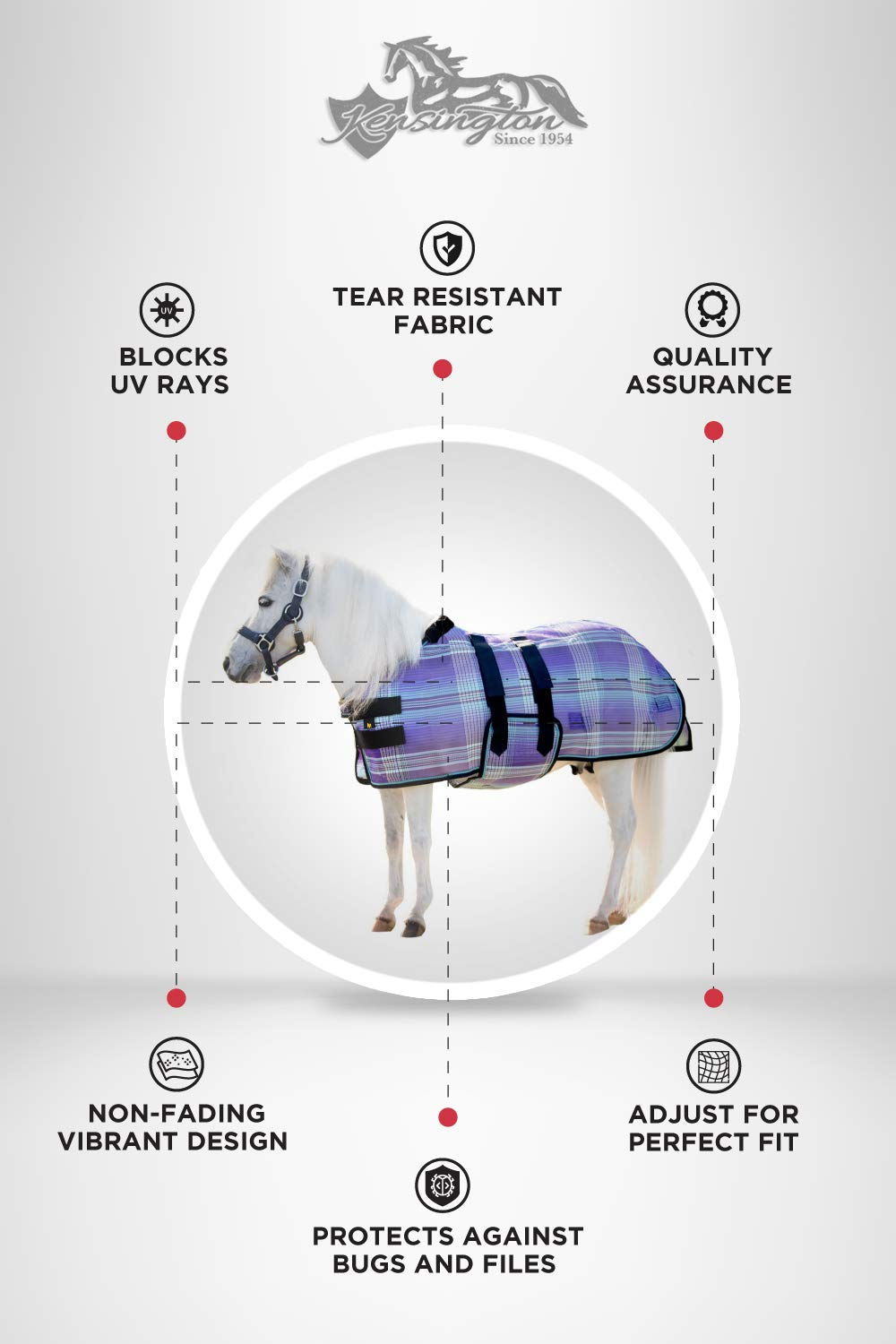 Kensington Mini Protective Fly Sheet (L) by Kensington Protective Products