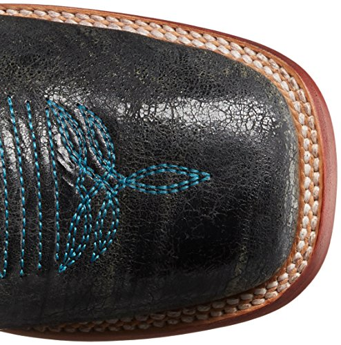 Aztec Ferrini Toe Western Ladies Boot Cowgirl Teal Women's Square Eqwxr6HqP