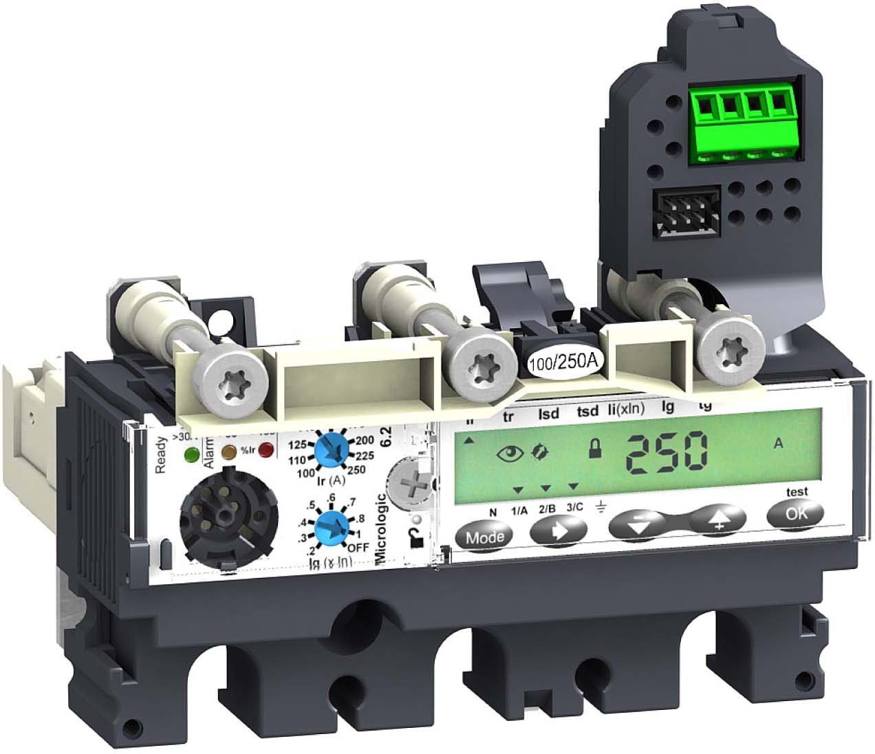 Schneider Electric lv429115micrologic 6.2E 100A 3p3rnsx100–250