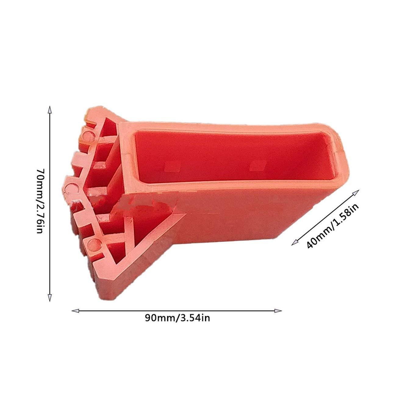 HIPENGYANBAIHU Escalera Cubierta de pie redonda Exquisita Duradera Escalera plegable multifunci/ón Cubierta de pie en forma de abanico Alfombrilla antideslizante