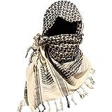 KT SUPPLY Echarpe Homme camouflage, Foulard Multifonction Unisexe Châle  Arabe Enveloppement de Tête Keffieh Militaire cb4a5969bab