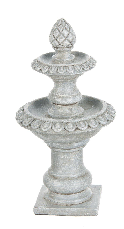 Fairy Garden Fountain Bird Bath Figurine