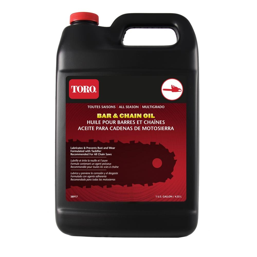 Toro 38917 Chainsaw Bar and Chain Oil, 1 Gallon by Toro