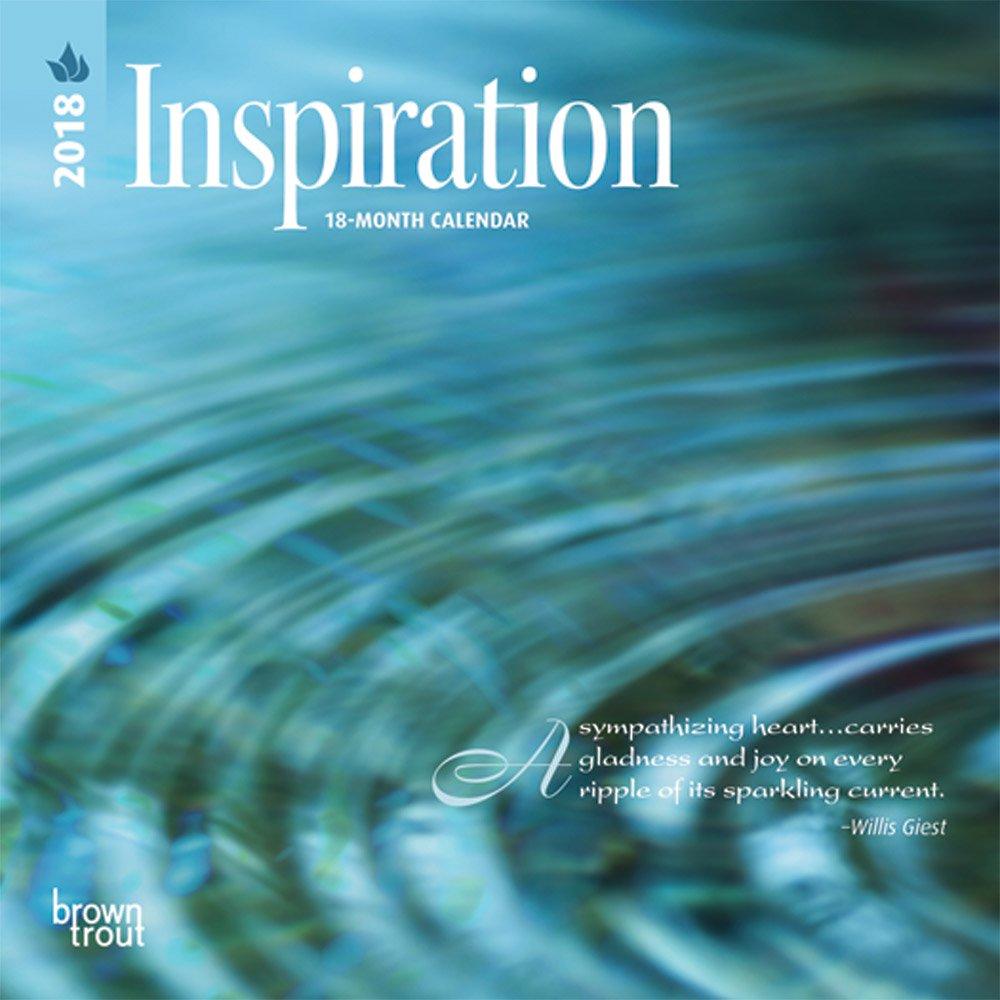 Inspiration 2018 7 x 7 Inch Monthly Mini Wall Calendar, Inspiration Motivation Quotes (Multilingual Edition) pdf epub