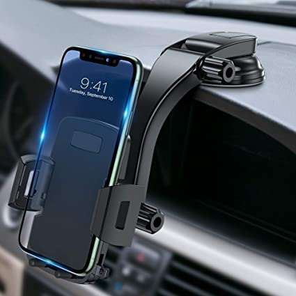 Toiko Car Phone Mount Car Mount for Cell Phone Phone Holder for Car Dashboard Smartphone Car Mount Magnetic Car Mount Phone Holder Compatible with All Smartphones