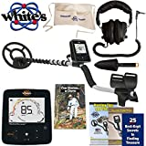 Whites Treasuremaster Metal Detector Waterproof Search Coil, Headphones, Apron, Scoop and Books Review