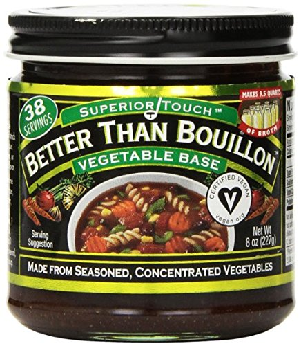 (Better Than Bullion Vegetable Base, 8 Ounce (Pack of 6))