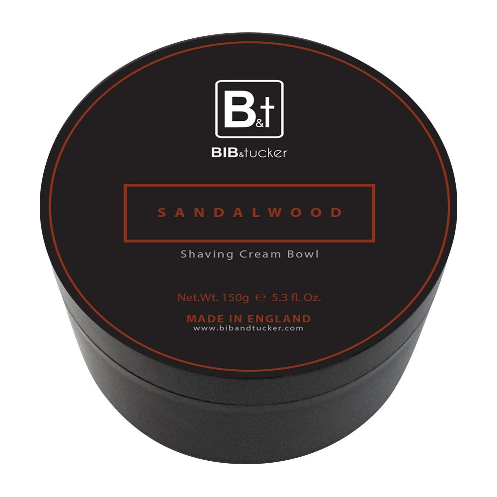 Bib & Tucker Shaving Cream Bowl - Sandalwood 150g