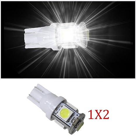 muchkey Indicador No Error LED Interior Luz Bombillas interior de coche lámpara de bombillas de repuesto