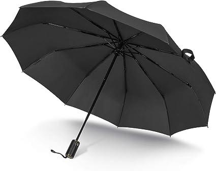 Chicago Skyline Scene Indian Umbrella Auto Open And Close Sun UV Protection Waterproof Foldable Compact Windproof Parasol Automatic Rain Umbrellas
