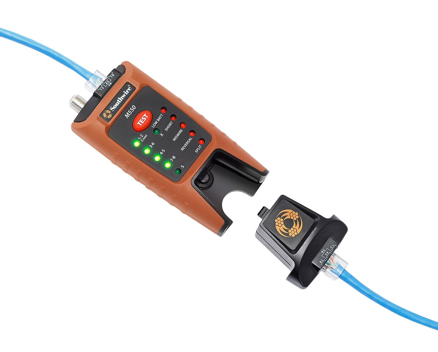 Southwire Tools & Equipment M550 Continuity Tester for Data & Coax ...