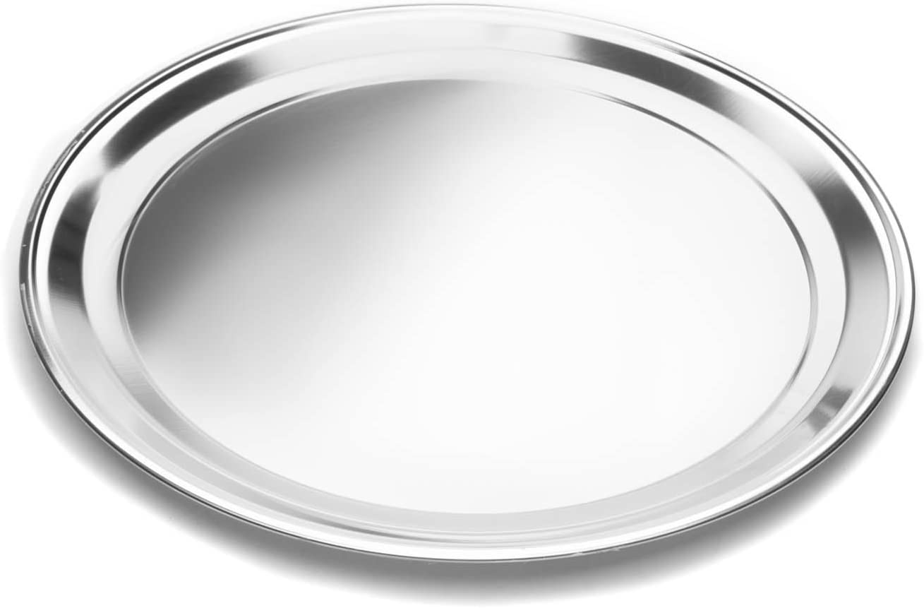 Fox Run 4497 Pizza Pan, Stainless Steel, 16-Inch