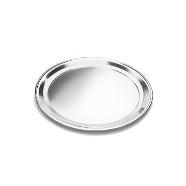Fox Run 4497 Pizza Pan, Stainless Steel, 16-Inch