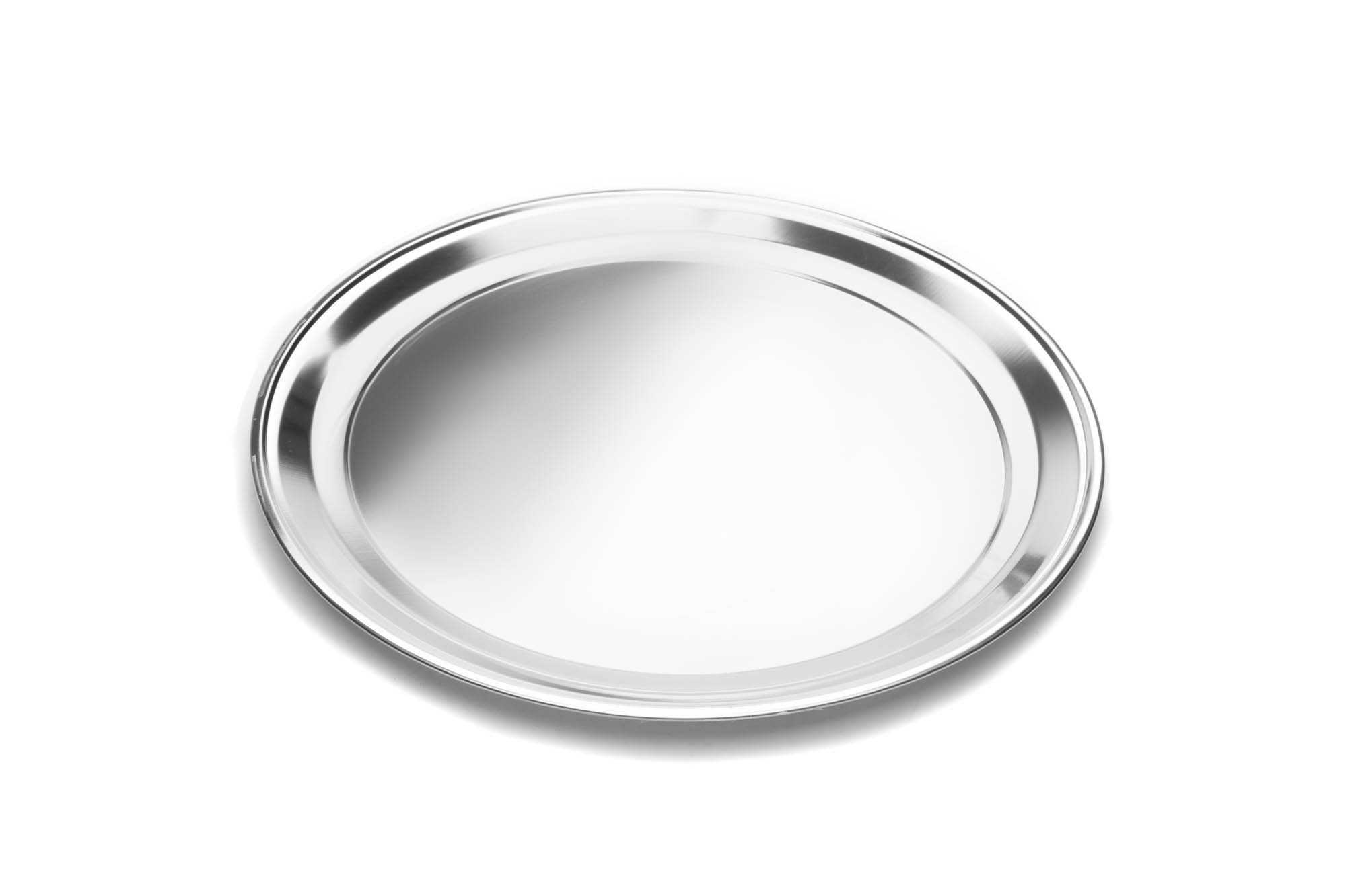 Fox Run 4497 Pizza Pan, Stainless Steel, 16-Inch by Fox Run