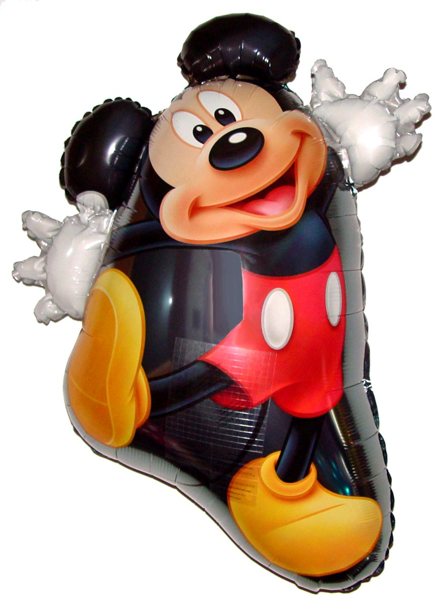ミッキーマウス31インチ反重力フローティングToy – Amazing string-less Hovering zero-gバルーン、Flying Disney Cartoon Movie Character Magic Animal Kingdom誕生日パーティーFavor   B0164OB56S
