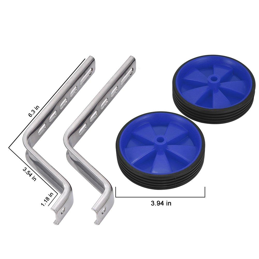 /Taille universelle Petites roues stabilisatrices pour v/élo denfant /Blufied 30,4 /à 50,8 cm