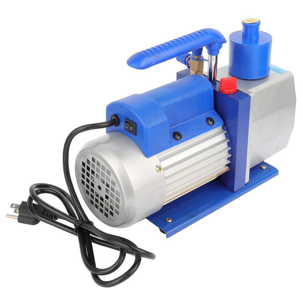 GYZJ 7 CFM Rotary Vane Vacuum Pump (7CFM,1/2HP,5 Pa,110V/60Hz,250ml Oil Capacity) for HVAC/Auto AC Refrigerant Recharging, Wine Degassing, Milking, Medical, Food Processing etc