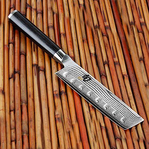 Buy shun classic 5-inch hollow edge nakiri knife