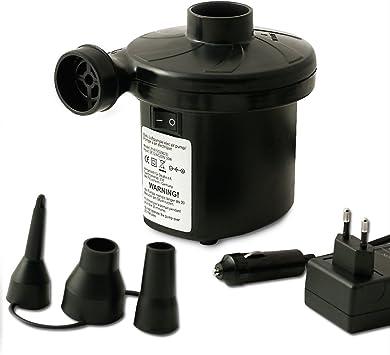 1x Elektrische Luftpumpe Batteriebetrieb Luftpumpe Pumpe Camping Gebl/äse