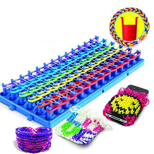 Amazon Cra Z Loom Super Cra Z Loom W New Neon Bands Toys Games