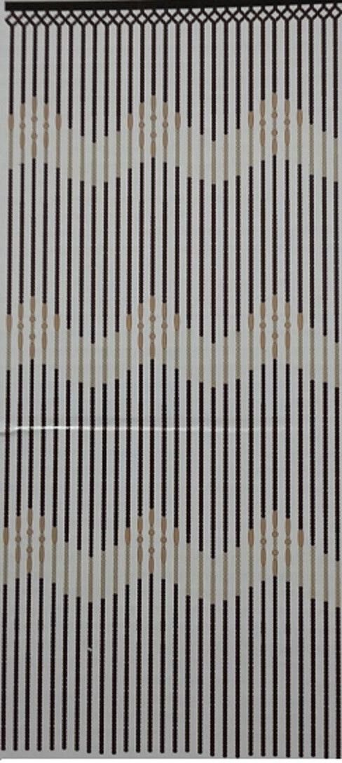 Scotvision® Top Quality Wooden Bamboo Beaded Door Curtains Blinds Fly Insects Door Curtains