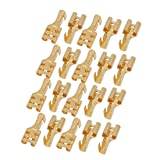 Uxcell Brass 6.3 mm Connectors Female Spade Cable