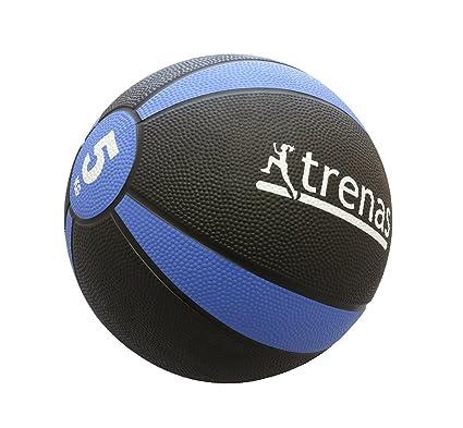 trenas Balón Medicinal de Goma Pro – 5 kg: Amazon.es: Deportes y ...