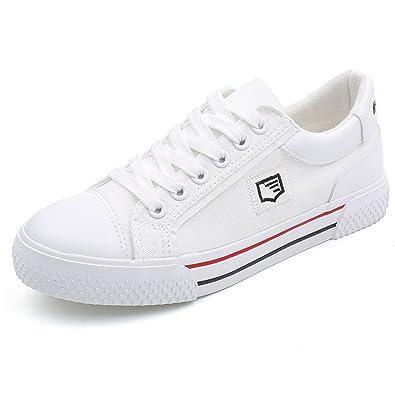 1dc9eb2a39723 Amazon.com | Women Sneakers Low-Top Canvas Fashion Season Lace Ups ...