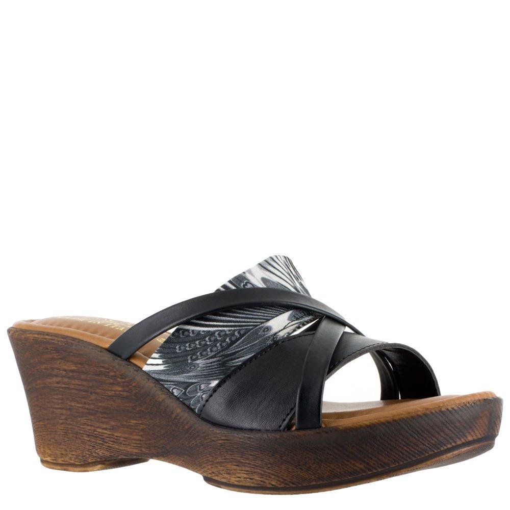 Easy Street Lucette Women's Sandal B07B4LPNSC 10 B(M) US|Black