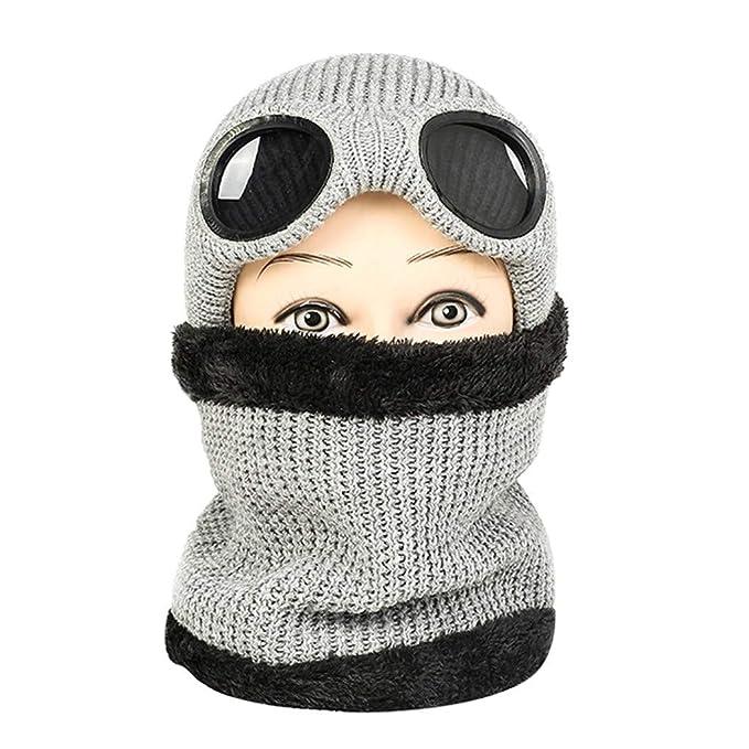 Vectry Crochet Las Mujeres del Invierno Gorro De Lana Tejer Beanie ...
