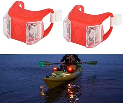 Pactrade Marine Boat Kayak 20/'/' All Round Anchor Stern LED Light Battery Operate