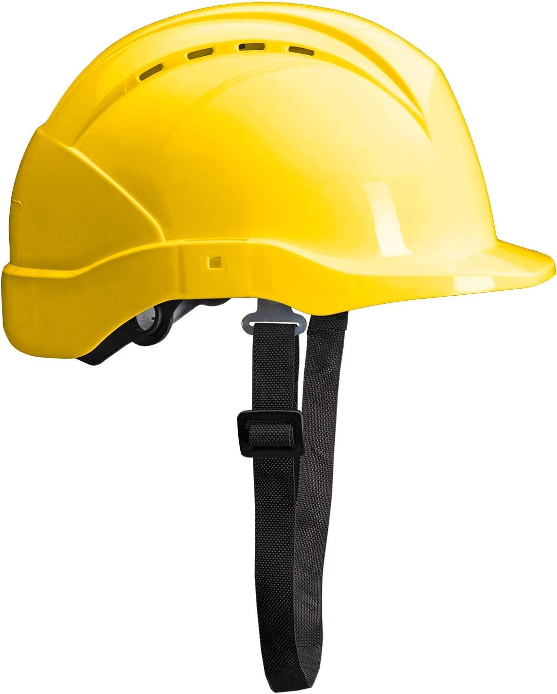 ACE Patera Safety Helmet Work Head Protection Hard Hat with Twist Lock Ventilated and Adjustable Yellow