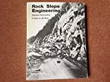img - for Rock Slope Engineering 3E Cl book / textbook / text book