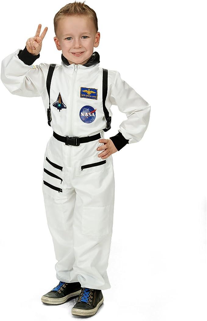 El astronauta traje blanco astronauta mono para el Carnaval y el ...