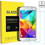 Panzerglasfolie für Samsung Galaxy S6 -[2 Stück]DOSMUNG Panzerglas Schutzfolie für Samsung S6, 9H Härtegrad Glas Displayschutzfolie-Utra Klar-Schutz vor Wasser, Ölschmutz, Staub und Kratzern