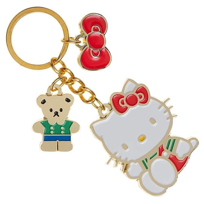 Amazon.com: Sanrio Hello Kitty - Llavero con colgante: Clothing