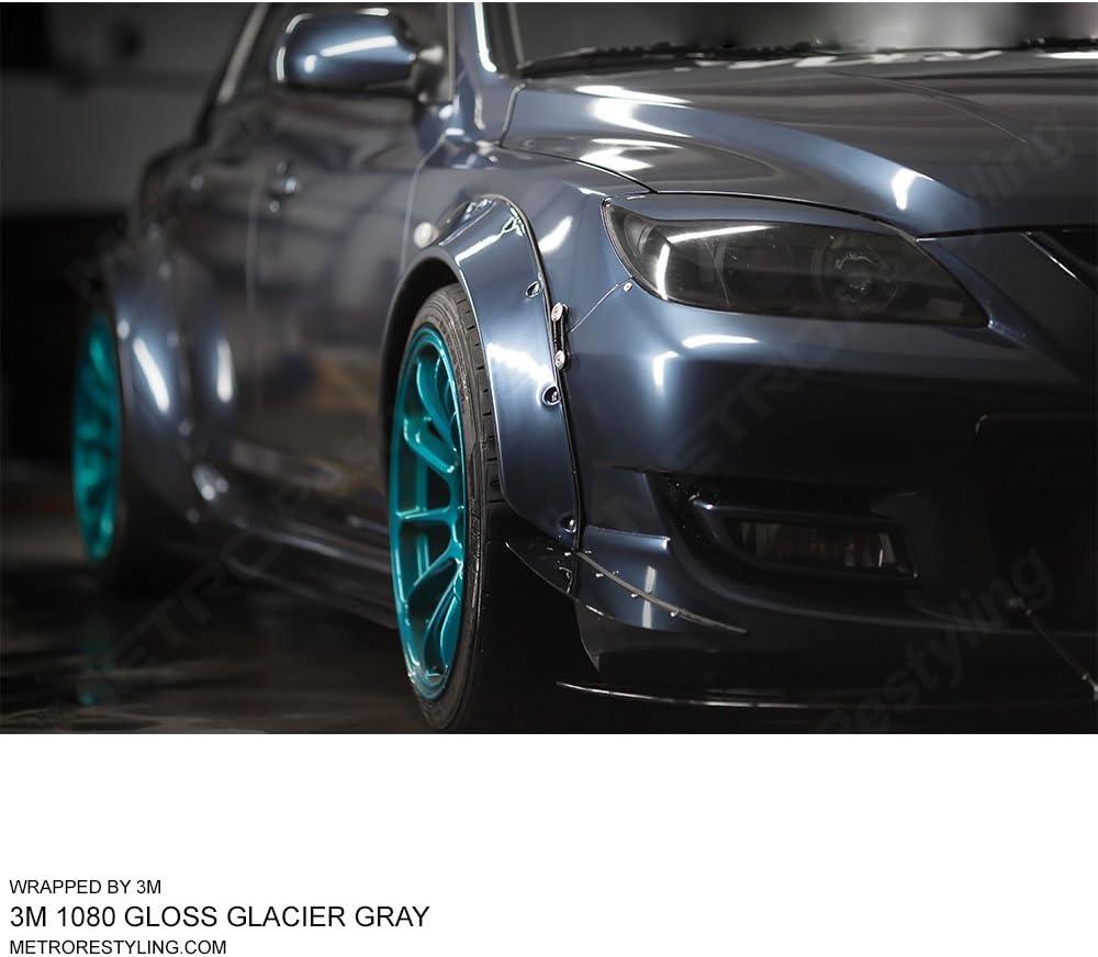 5ft x 4ft 3M 1080 GP99 GLOSS BLACK ROSE METALLIC Vinyl Car Wrap Decal Sticker