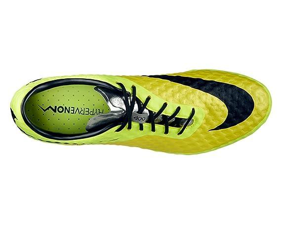 Nike Hypervenom Phantom FG Botines De Fútbol - (Amarillo Vibrante/Volt Hielo/Negro) (7): Amazon.es: Deportes y aire libre