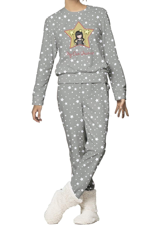 TALLA XL. Santoro Pijama Manga Larga Corel My Own Universe para Mujer