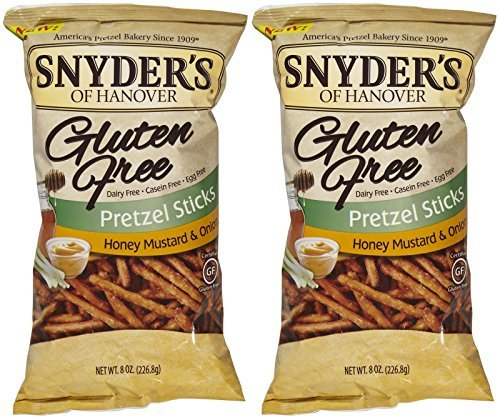 Onion Pretzel (Snyder's of Hanover Gluten Free Pretzel Sticks - Honey Mustard & Onion - 8 oz - 2 pk by Snyder's of Hanover)