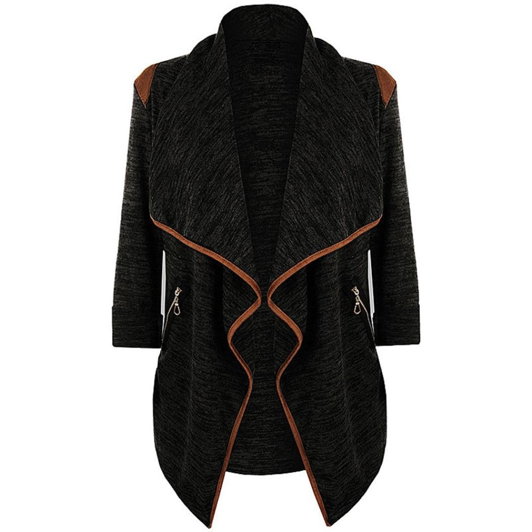 3c33fe7796d4 Top10  Vovotrade 2017 Hot Sale Womens Knitted Irregular Cardigan Casual Jacket  Long Sleeve Tops Plus Size Outwear