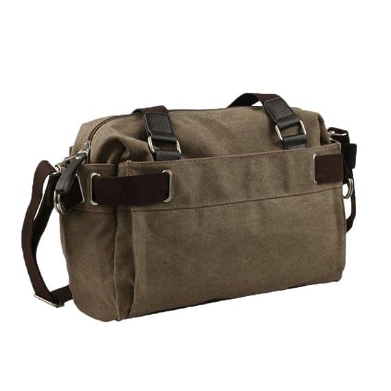 Trendy Men s Leisure Canvas Bag Shoulder Bag School Travel Hiking Outdoor  Satchel Moving Bag 3bb9b60889b3c