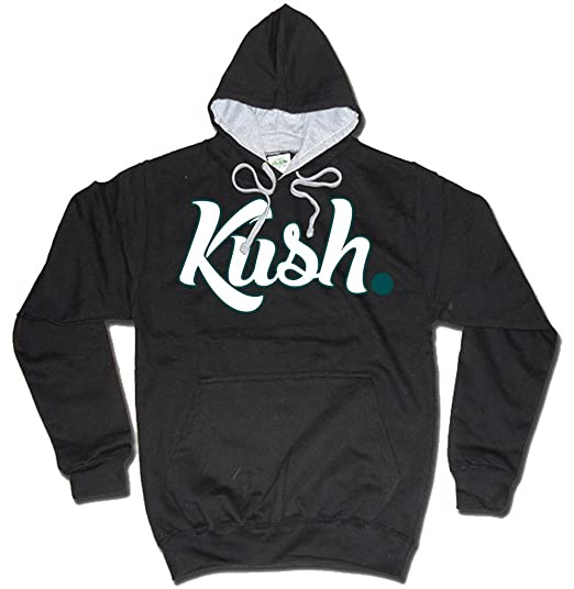 Dibbs Clothing Men's Kush Cannabis Urban Mp3 Hoody XX-Large Black