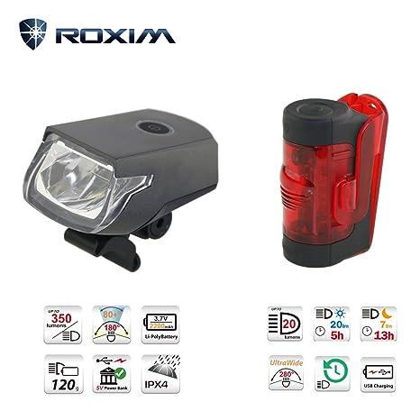 roxim Raptor x3 K frontal luz + r1 K trasera, Premium Juego de ...