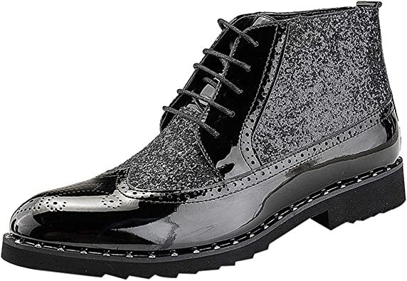 Sunnywill Sneakers, Mode Homme Automne Hiver Haut Cuir